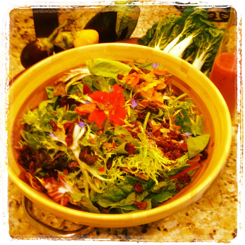 Wildflower Salad